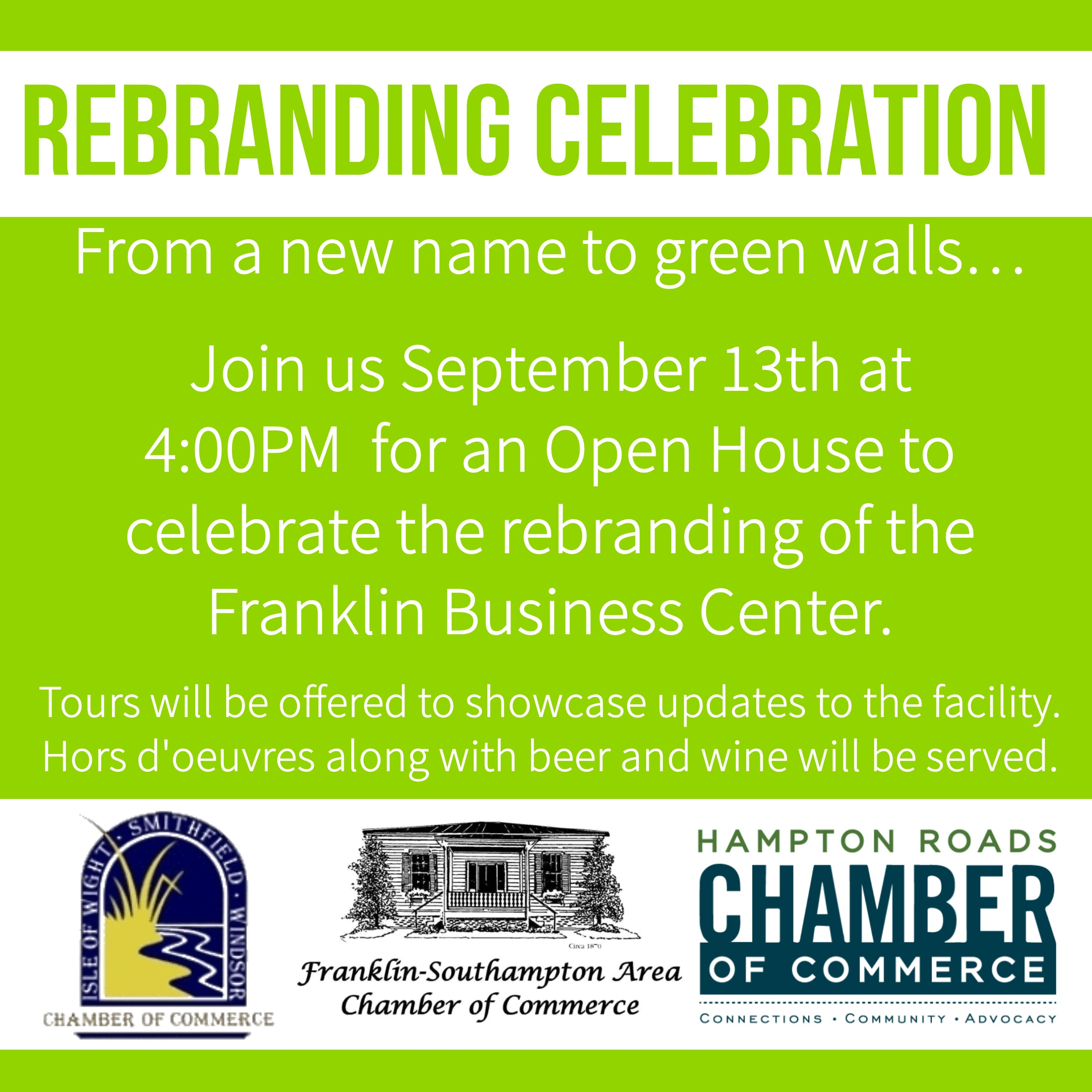 Franklin Business Center Rebranding Celebration