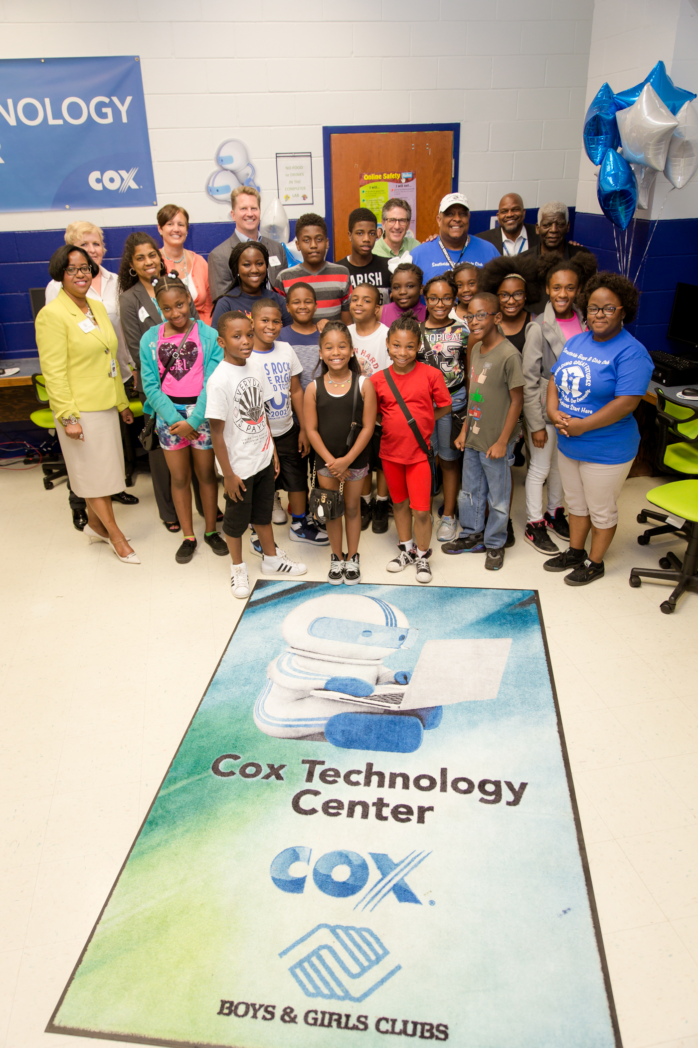 Cox Communications Funds Tech Center Upgrades for Southside Boys & Girls Clubs Ensuring Tech-Savvy Workforce for the Future