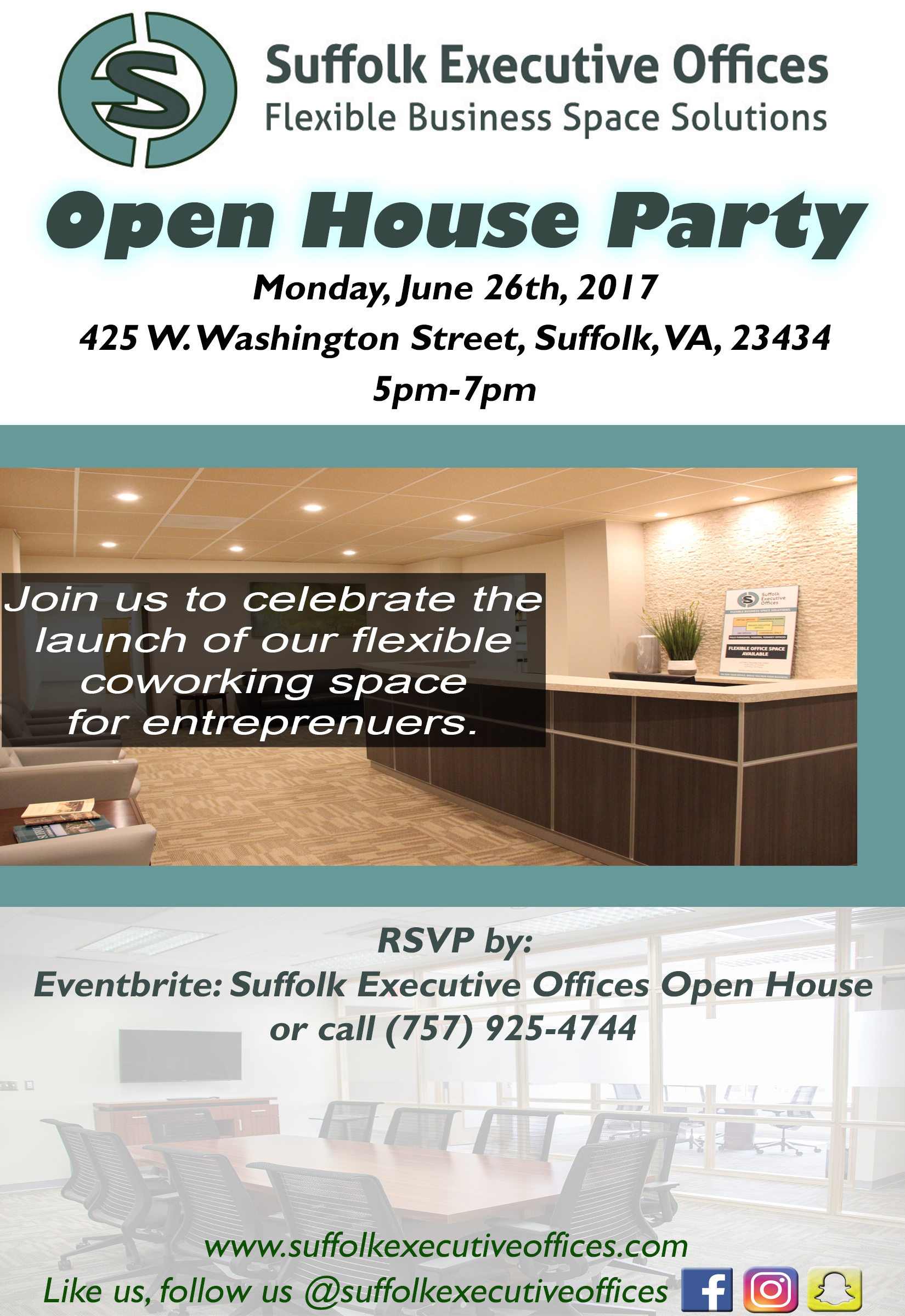 Suffolk Executive Offices Open House