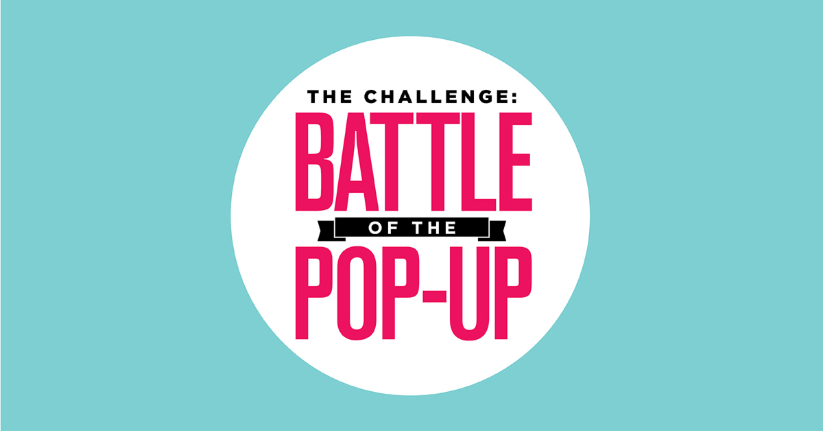 MacArthur Center's Second Battle of the Pop-Up Challenge Begins!
