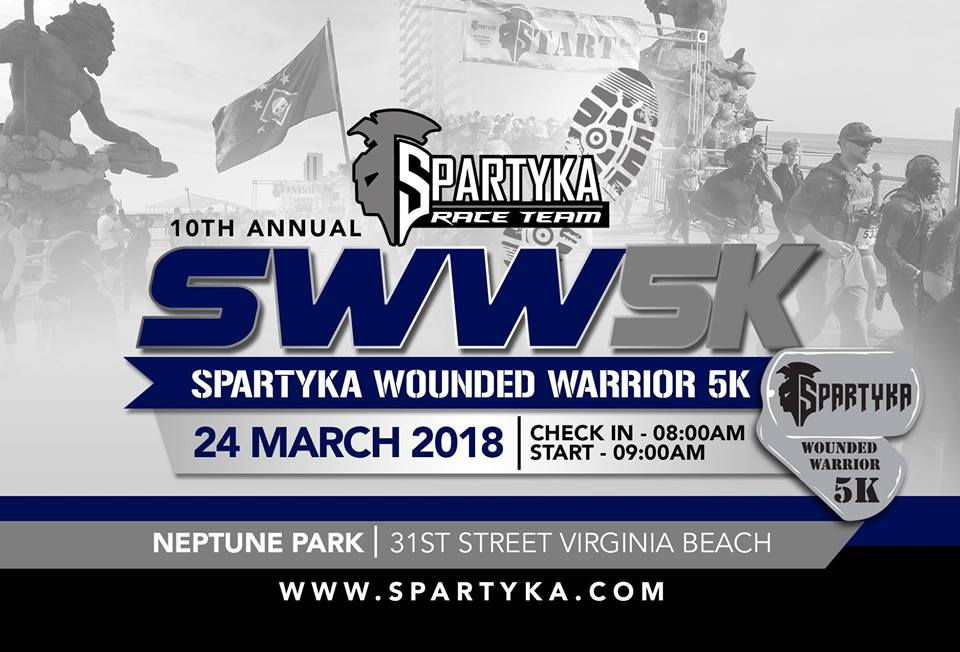 10th Annual Spartyka Wounded Warrior 5k