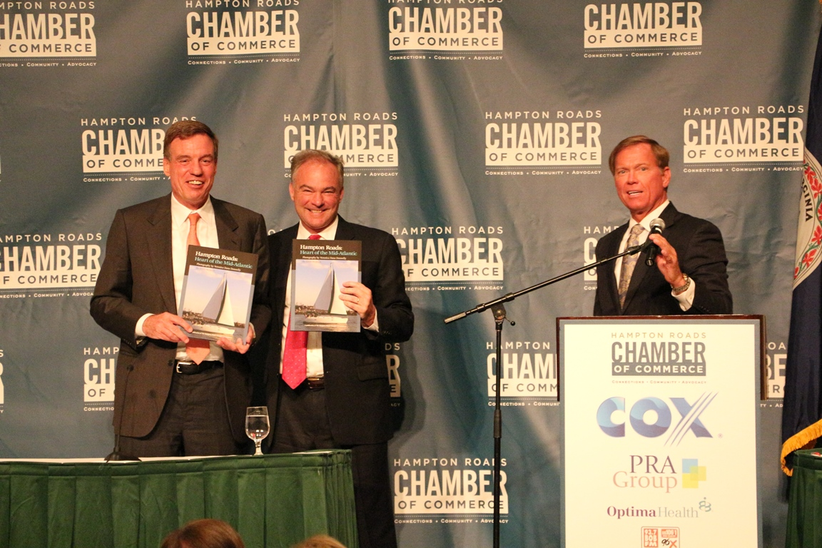 The Hampton Roads Chamber Welcomes Back our United States Senators