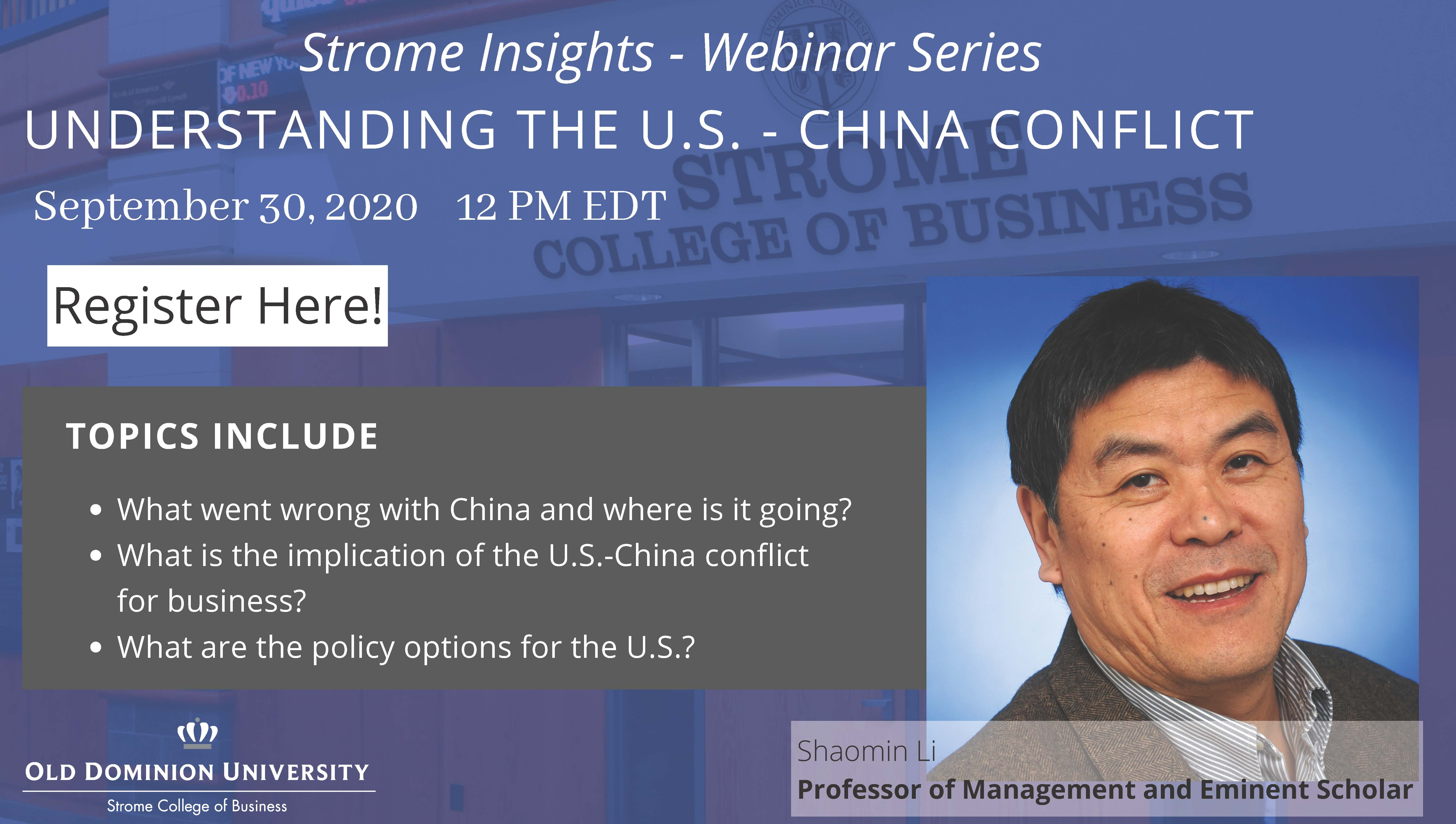 Strome Insights - Webinar Series