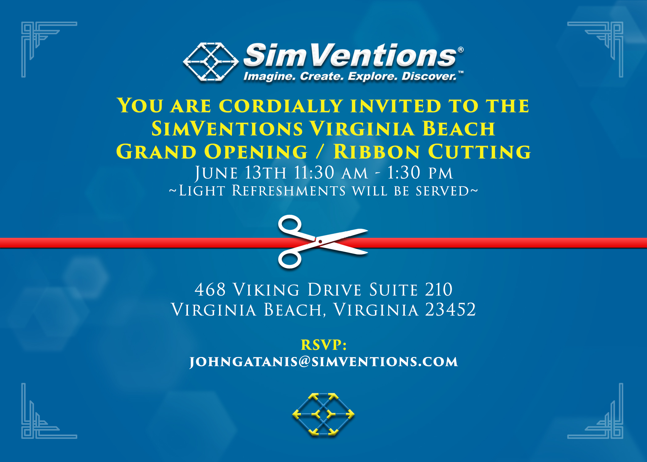 SimVentions Ribbon Cutting Ceremony