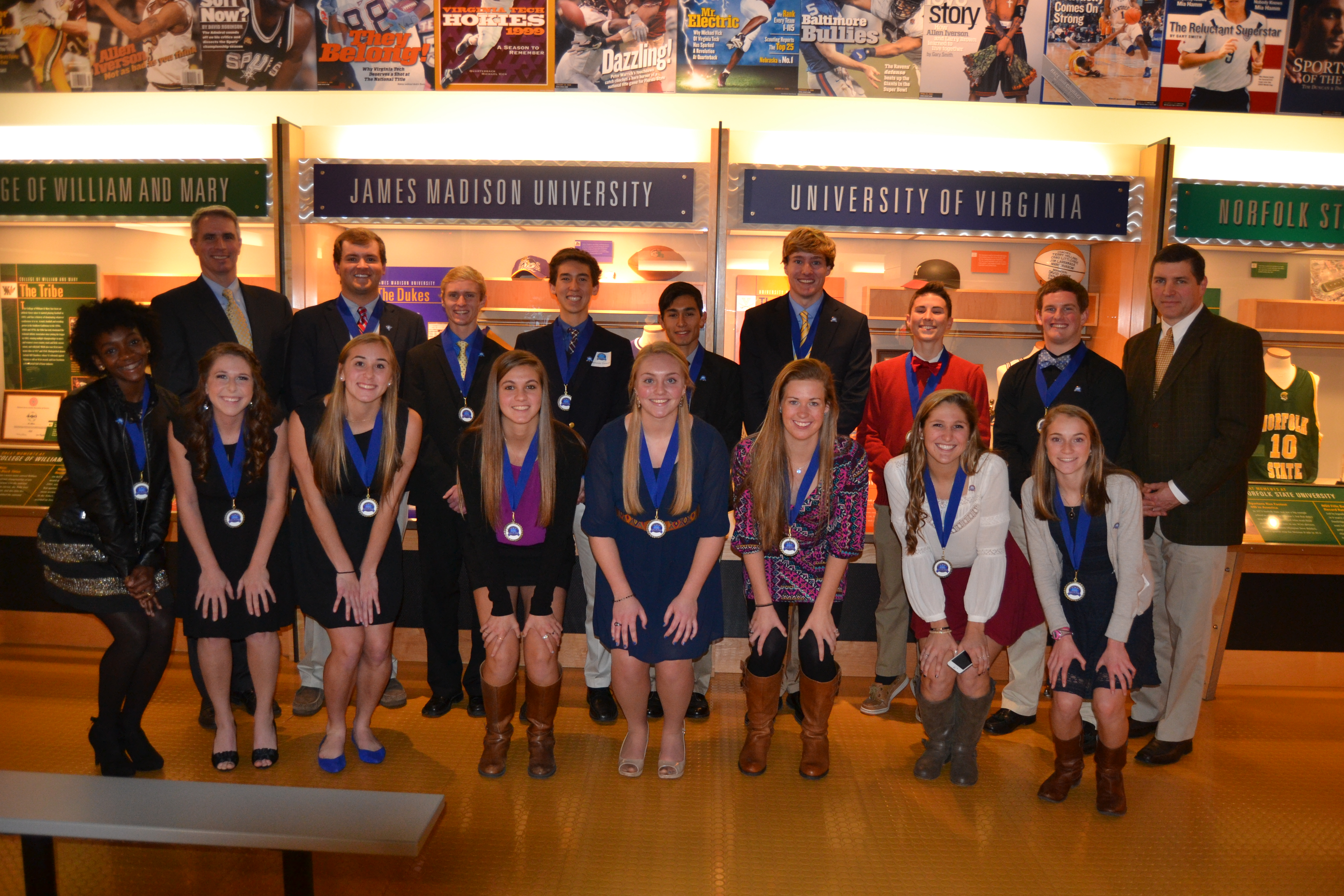 Student-Athlete Achievement Award Winners Announced