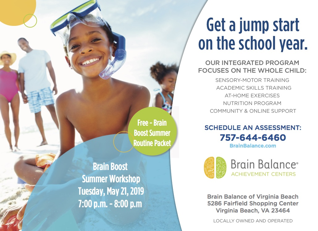 Brain Boost Summer Workshop