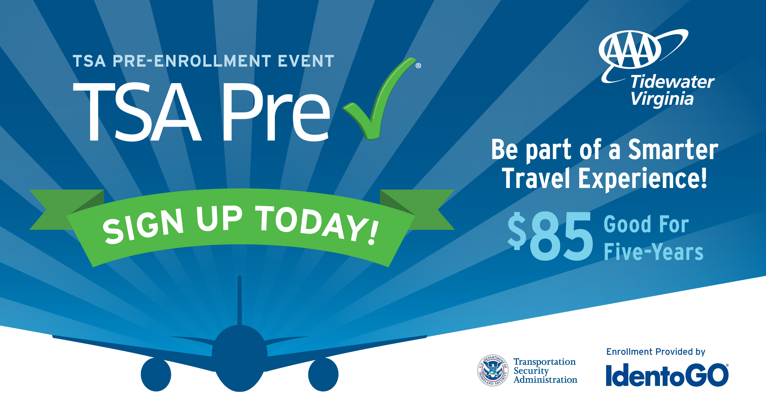 TSA PreCheck Event at AAA