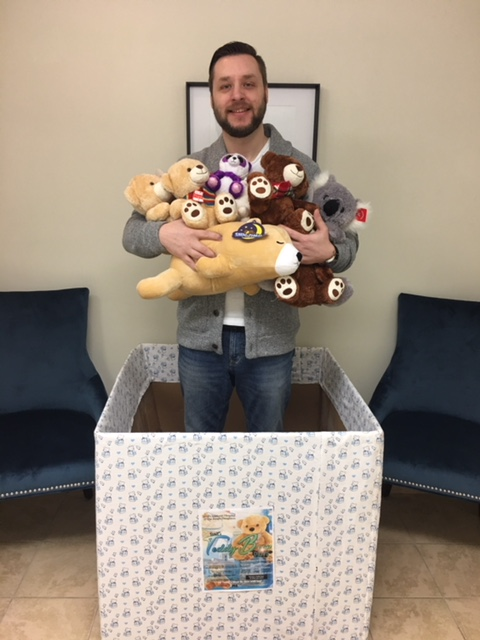 Alpha Group Joins the Teddy Bear Drive for the children of CHKD