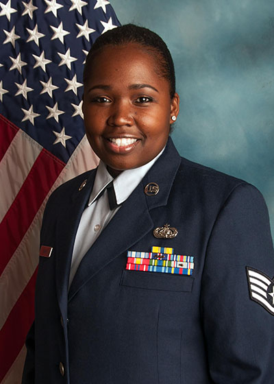 Staff Sergeant Tracey Evans Recognized as 2015 Military Citizen of the Year