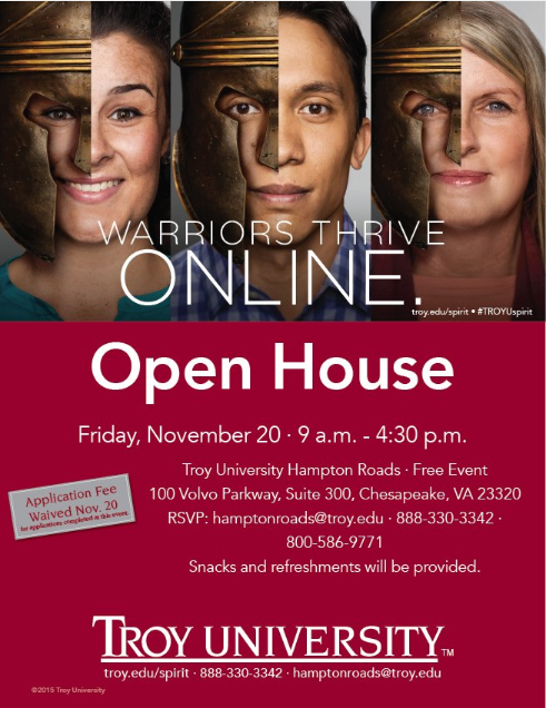 Open House at Troy University