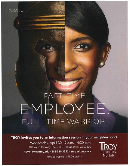 Troy University to hold an Open House in Hampton Roads