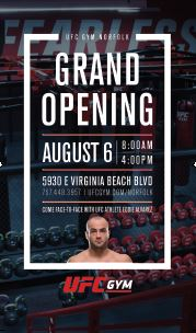 UFC Gym Norfolk Grand Opening