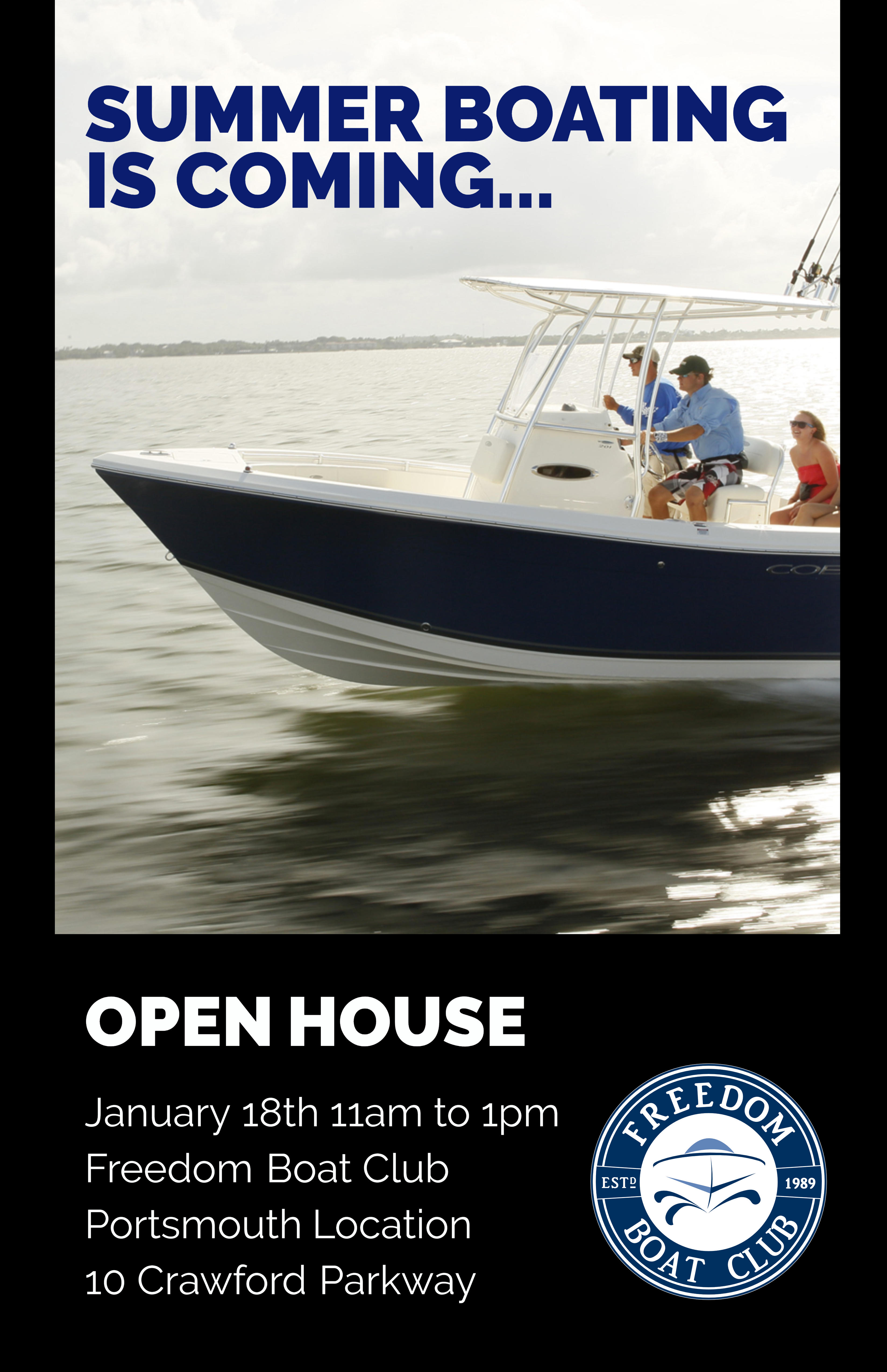 Freedom Boat Club - Open House Portsmouth