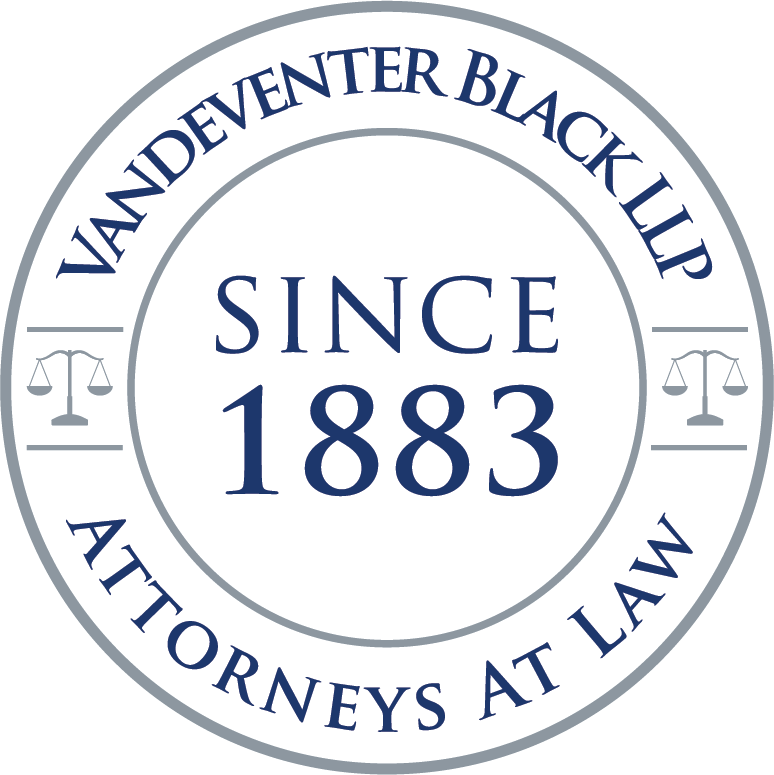 Vandeventer Black LLP Listed as the Largest Maritime Law Firm in Virginia