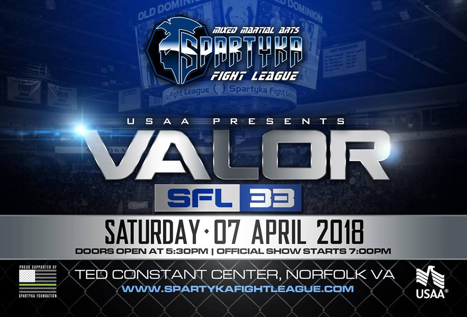 Spartyka Fight League 33 Valor