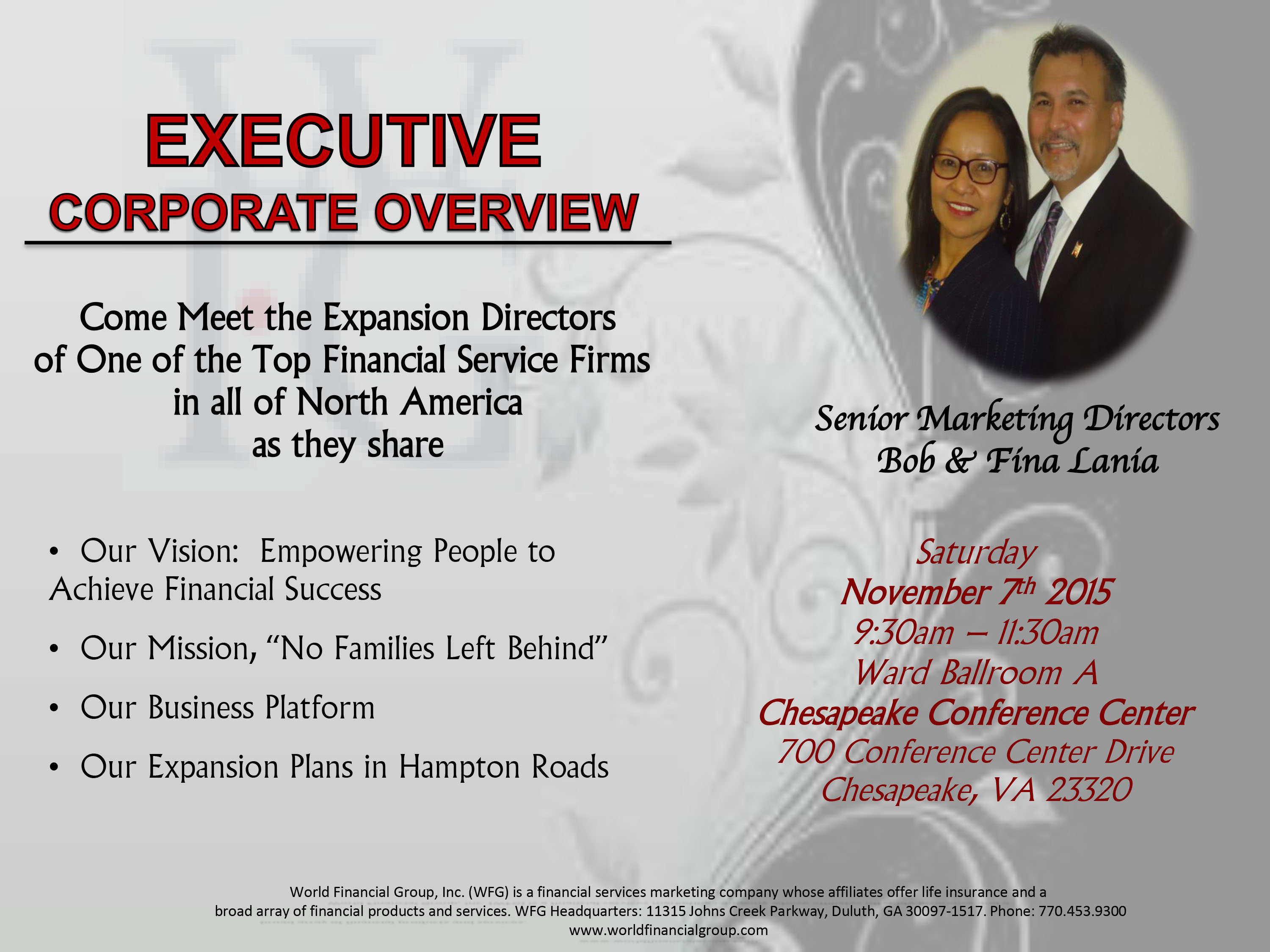 Executive Corporate Overview