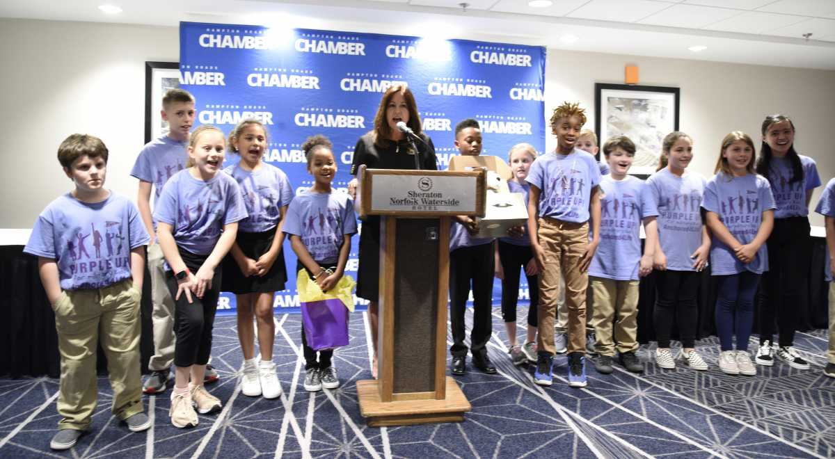 Second Lady Karen Pence Supports the Comfort Crew for Military Children
