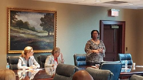 Norfolk City Officials meet with Chamber's Norfolk Division Board