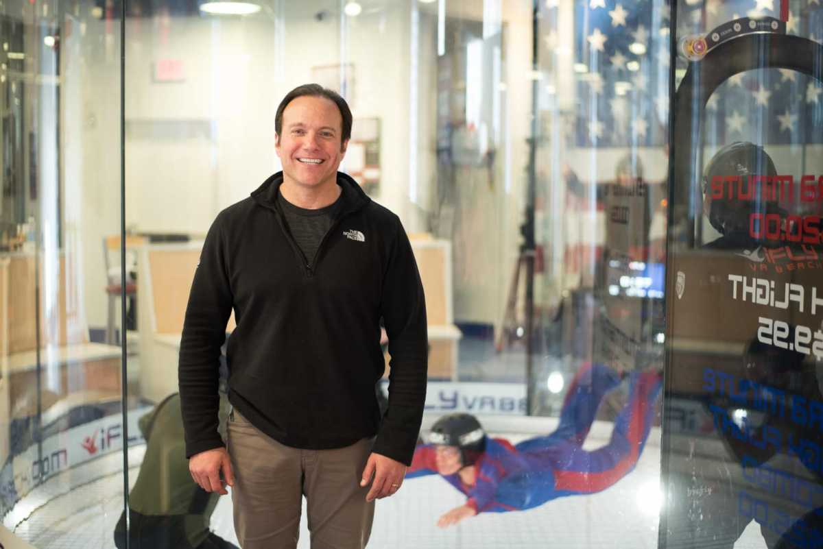 Bob Pizzini, CEO of iFly Virginia Beach Indoor Skydiving | First person