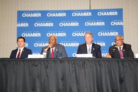 Four Congressmen address the Hampton Roads Chamber