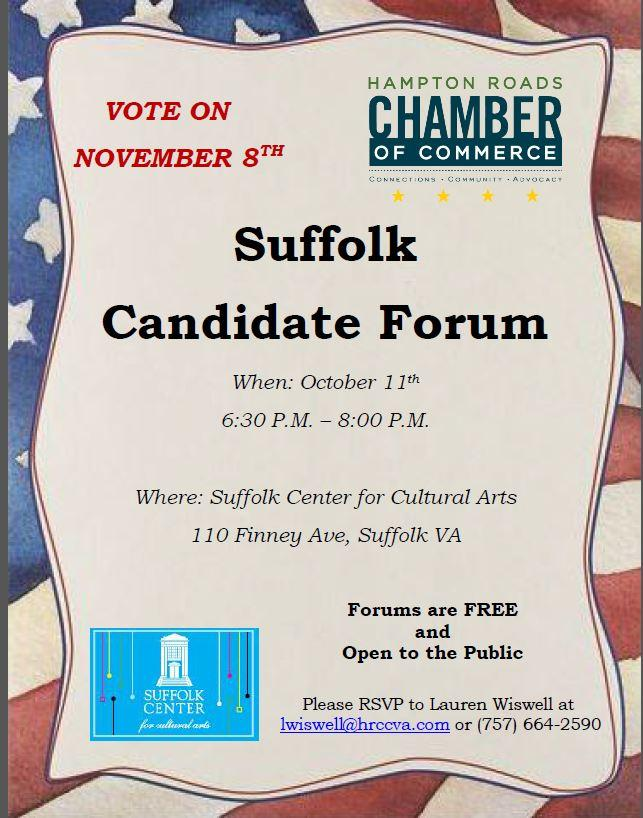Suffolk Candidate Forum