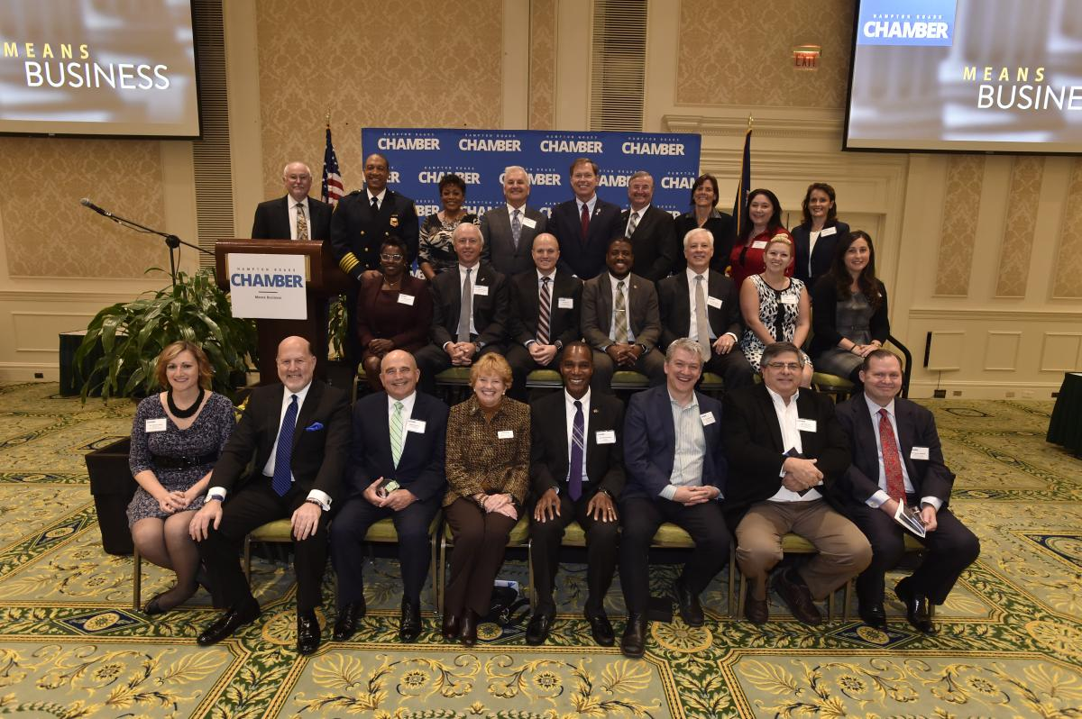 HAMPTON ROADS CHAMBER WELCOMES NEW REGIONAL LEADERS