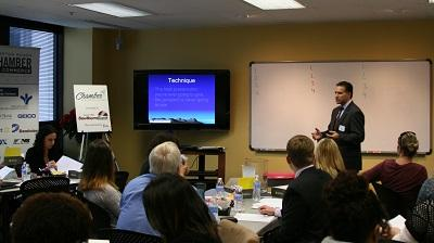 Dan Eagle Presents  Telecommunications and Your Business at the Chamber Education Series