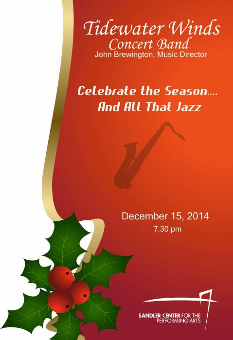 Tidewater Winds Is Proud To Announce A Spectacular Holiday Program