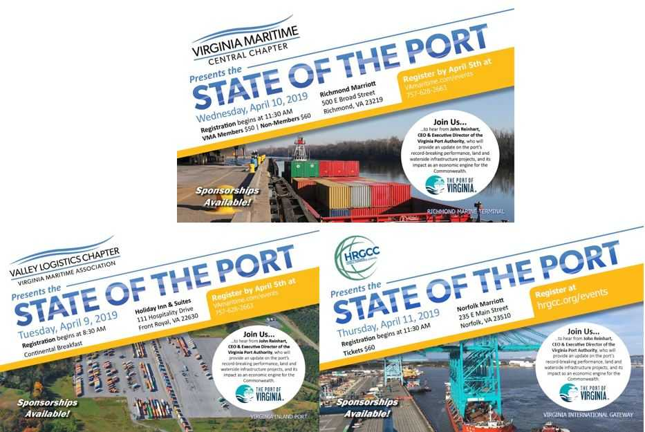 State of the Port Address 2019