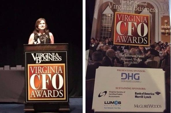 Congratulations to Hampton Roads Chamber CFO, Sylvia Haines, Virginia Business CFO Award Recipient