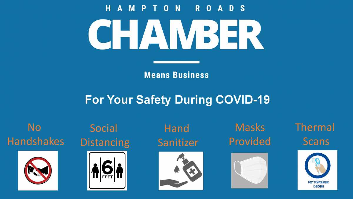 Hampton Roads Chamber Adopts New COVID-19 Event Guidelines