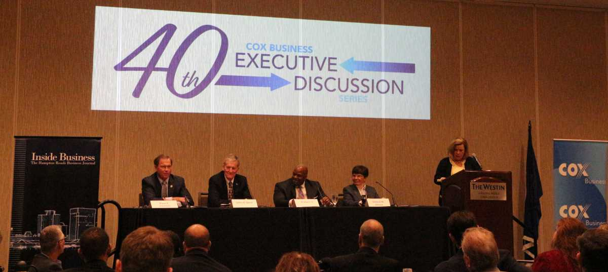 Chamber President Participates on Reinventing Hampton Roads Panel