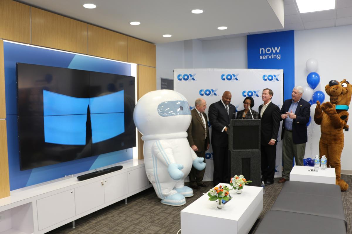 Hampton Roads Chamber Celebrates Grand Opening of Portsmouth Cox Solutions Store