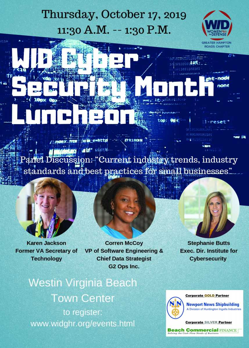 Women in Defense Cyber Security Month Luncheon