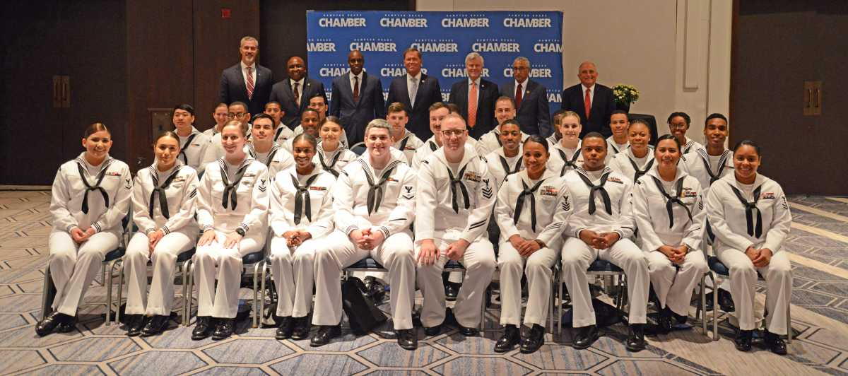 Hampton Roads Chamber Recognizes Our Military Members