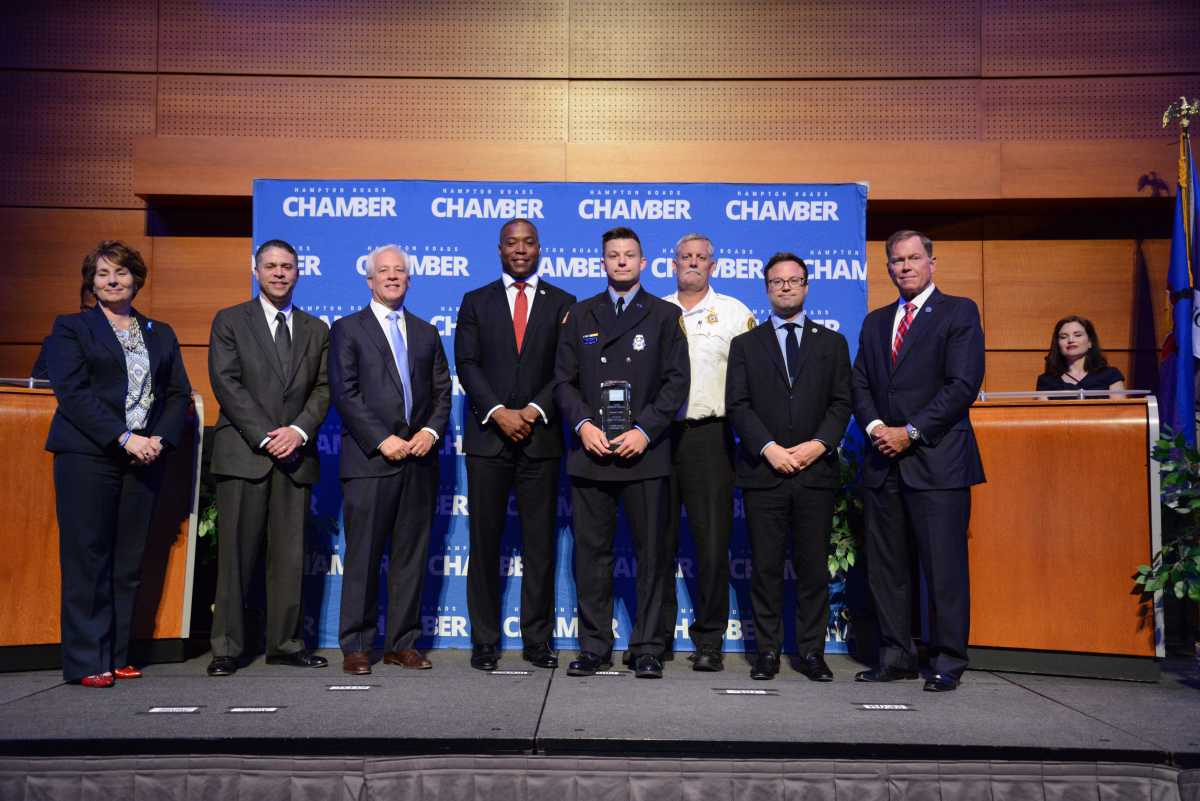 A Community of Heroes - 2019 Hampton Roads Chamber Valor Awards