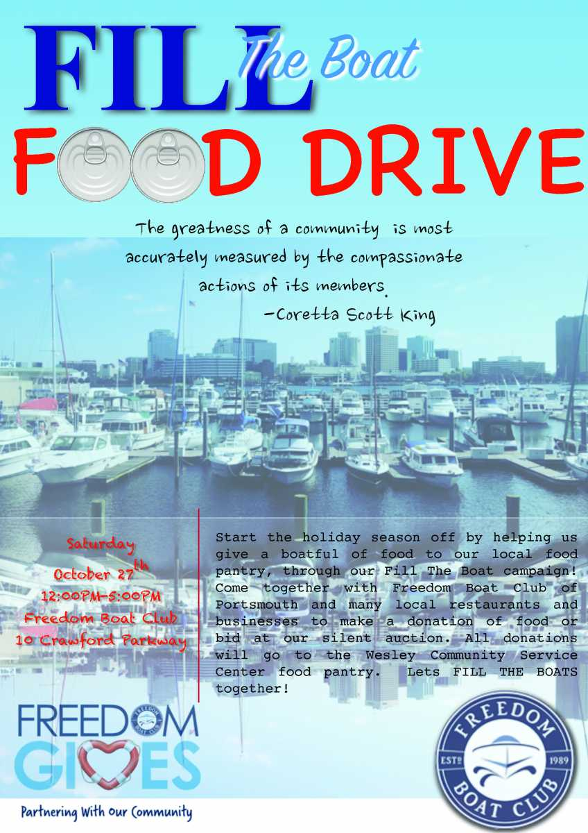 Fill the Boat Food Drive