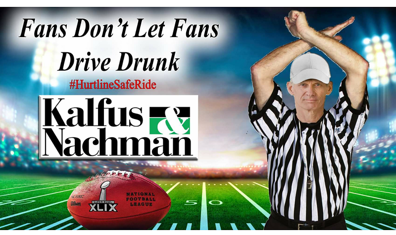 Cab co.s And Kalfus and Nachman Will Give Free Rides Home Super Bowl Sunday