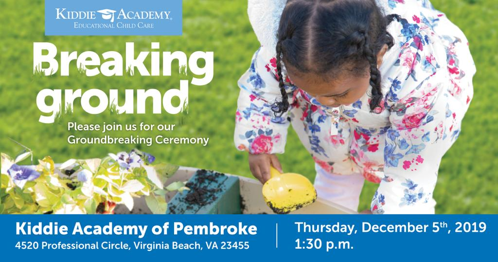 KIDDIE ACADEMY OF PEMBROKE GROUNDBREAKING EVENT