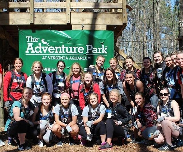 Corporate Team Building at The Adventure Park at Virginia Aquarium