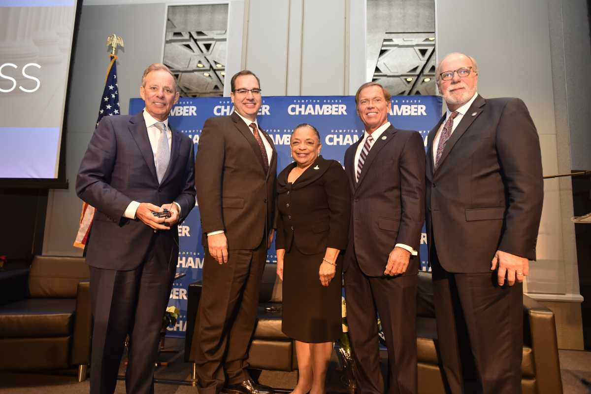 Think Big. The Hampton Roads Economic Pillars put Virginia on the Map