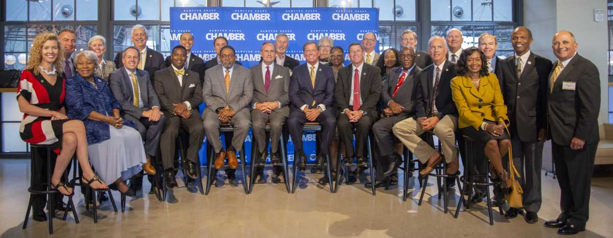 Legislators Convened for the Hampton Roads Chamber's 2019 Legislative Reception