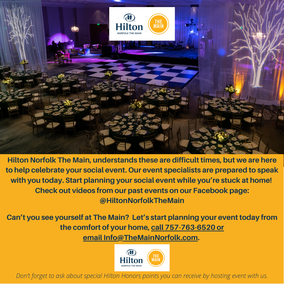 Start Planning Your Event with Hilton Norfolk The Main