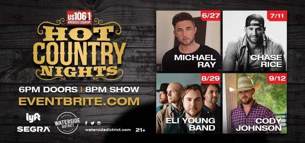 Hot Country Nights- Announced!