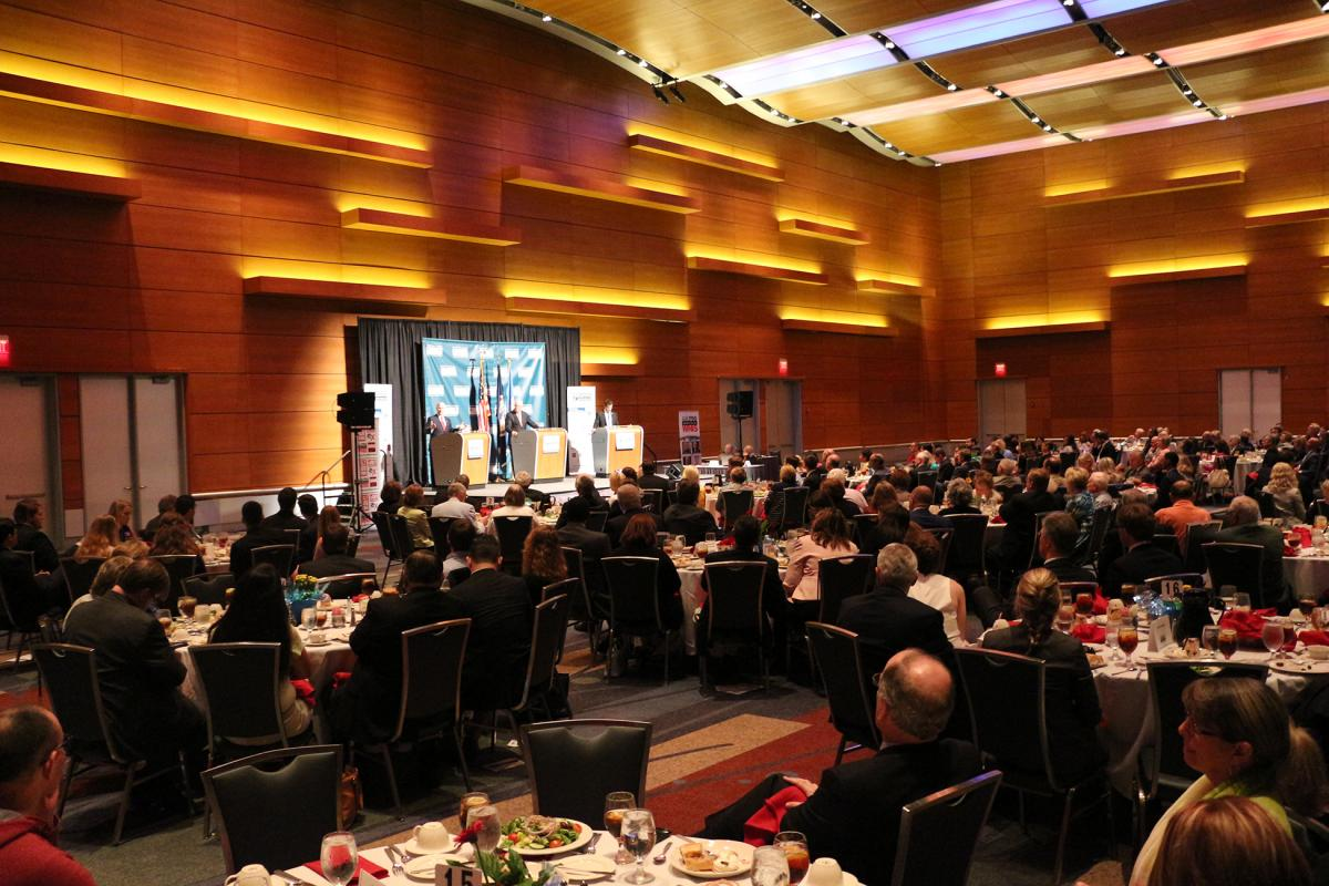 Hampton Roads Chamber of Commerce Hosts U.S. 2nd District Congressional Republican Debate