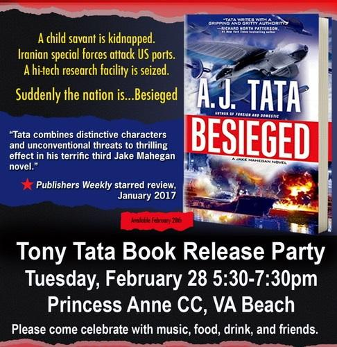 Tony Tata Book Release Party