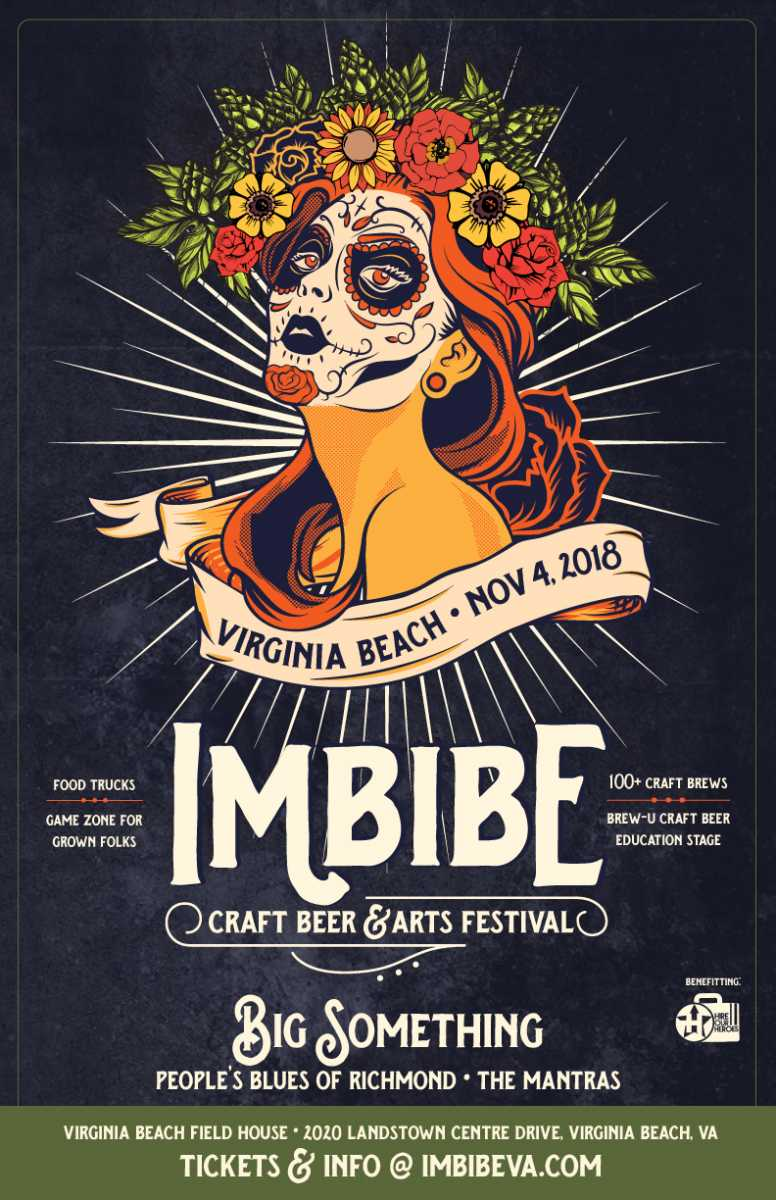 Imbibe Craft Beer and Arts Festival on November 4