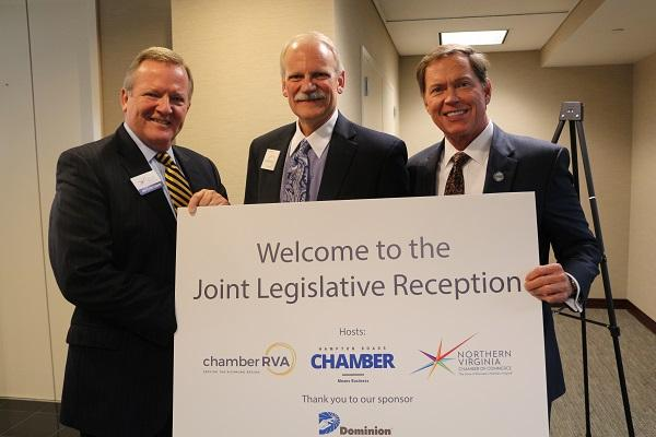 Hampton Roads Chamber welcomed legislators and guests to the first Joint Legislative Reception