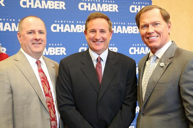 Oracle CEO, Mark Hurd Visits The Hampton Roads Chamber
