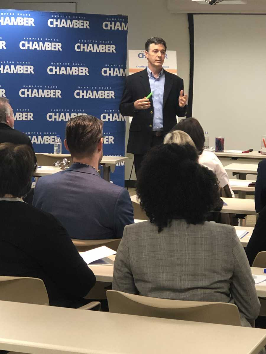 "Tactics to ""Stop Telling and Start Selling"" Covered During Chamber Education Series"